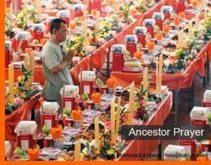 Qing Ming Ancestor Prayer