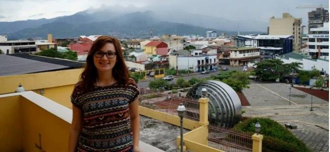 Elyse in San Jose, Costa Rica