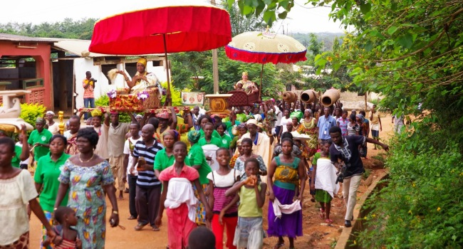 farewell-procession