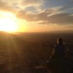 BR sunset