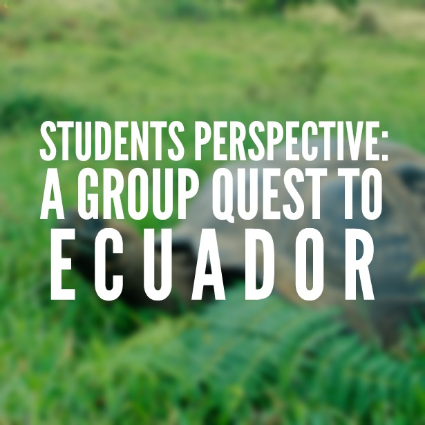 A Group Quest to Ecuador