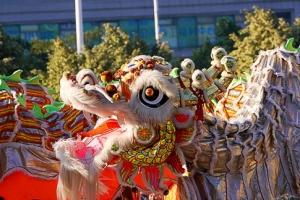 Macau | Chinese New Year 2014 Dragon Dance