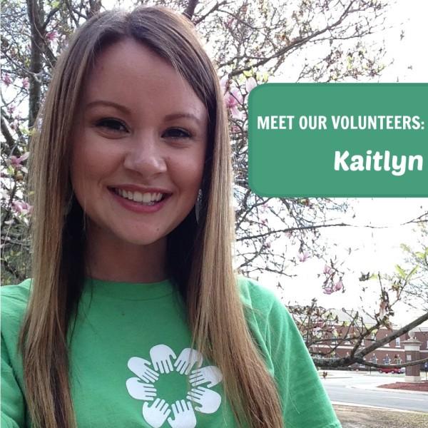 Meet Our Volunteers - Kaitlyn