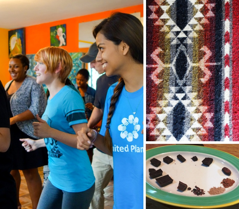 Louisiana State volunteers participate in cultural activities