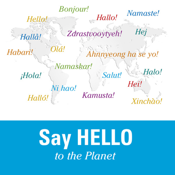Say Hello To the Planet