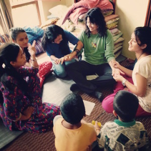 downtime with Deaf Nepalese girls having.jpg