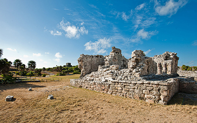 Photo of the Tulum Ruins in Mexico