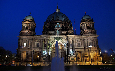 Photo of Berlin Cathedral, Deutschland at night