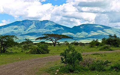 Moutnains of the Serengeti