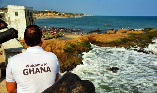 City tour of Accra, Ghana