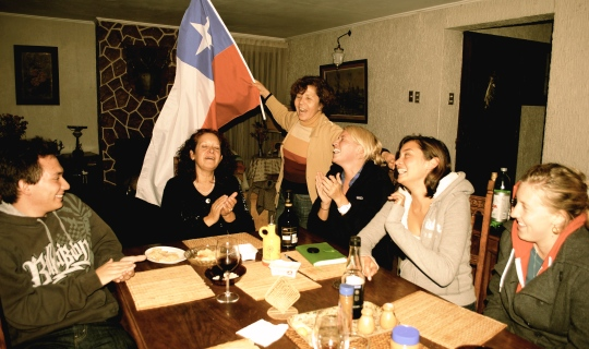 Host family in Chile
