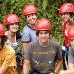 Group of volunteers in Costa Rica