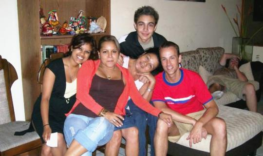 Host family in Costa Rica