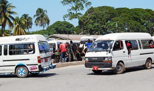 Dala dala bus, Tanzania