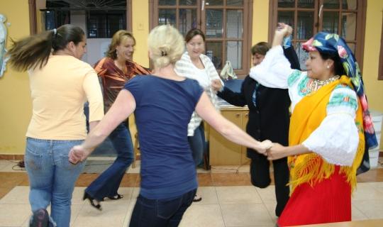 Dance lesson, Ecuador