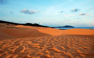 San dunes in Vietnam