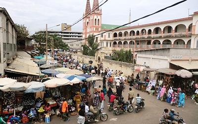 Le Grand Market in Togo