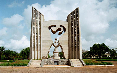 Independence Monument in Togo
