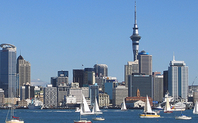 View of Auckland