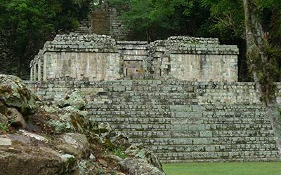 Mayan ruins in in Copan, Honduras