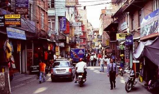 City tour of Kathmandu, Nepal