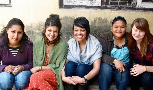 Host family in Nepal