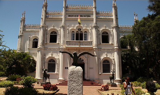 Photo of the exterior of Natural History Museum, Maputo