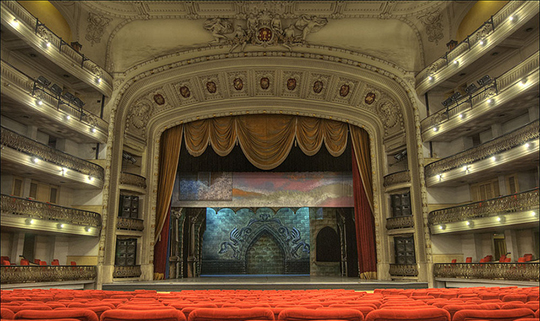 Cuban theater in Havana